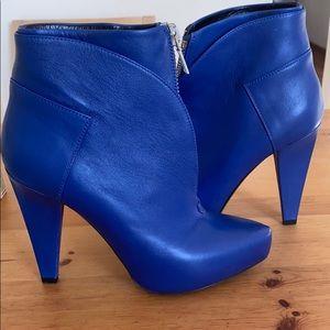 Proenza Schouler Blue Booties